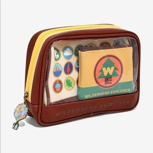 Loungefly Wilderness Explorer Cosmetic Bag Set